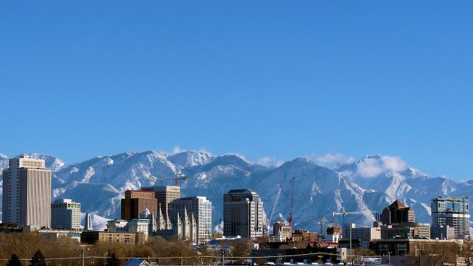 Image of Salt Lake City's Sky Line
