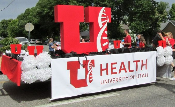 U of U Parade Float